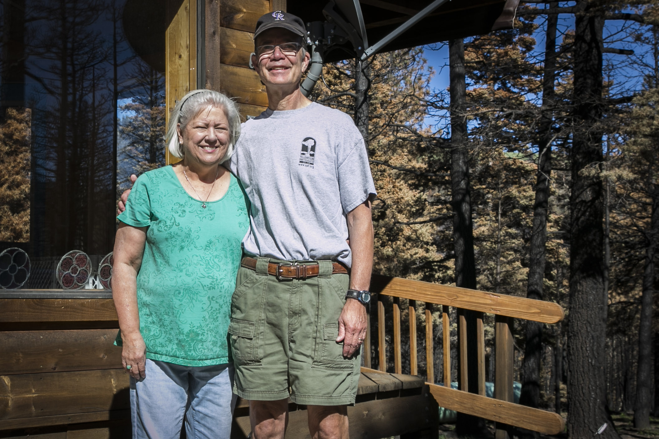 Photo: Spring Creek Fire 2 | Michael and Sharon Dent