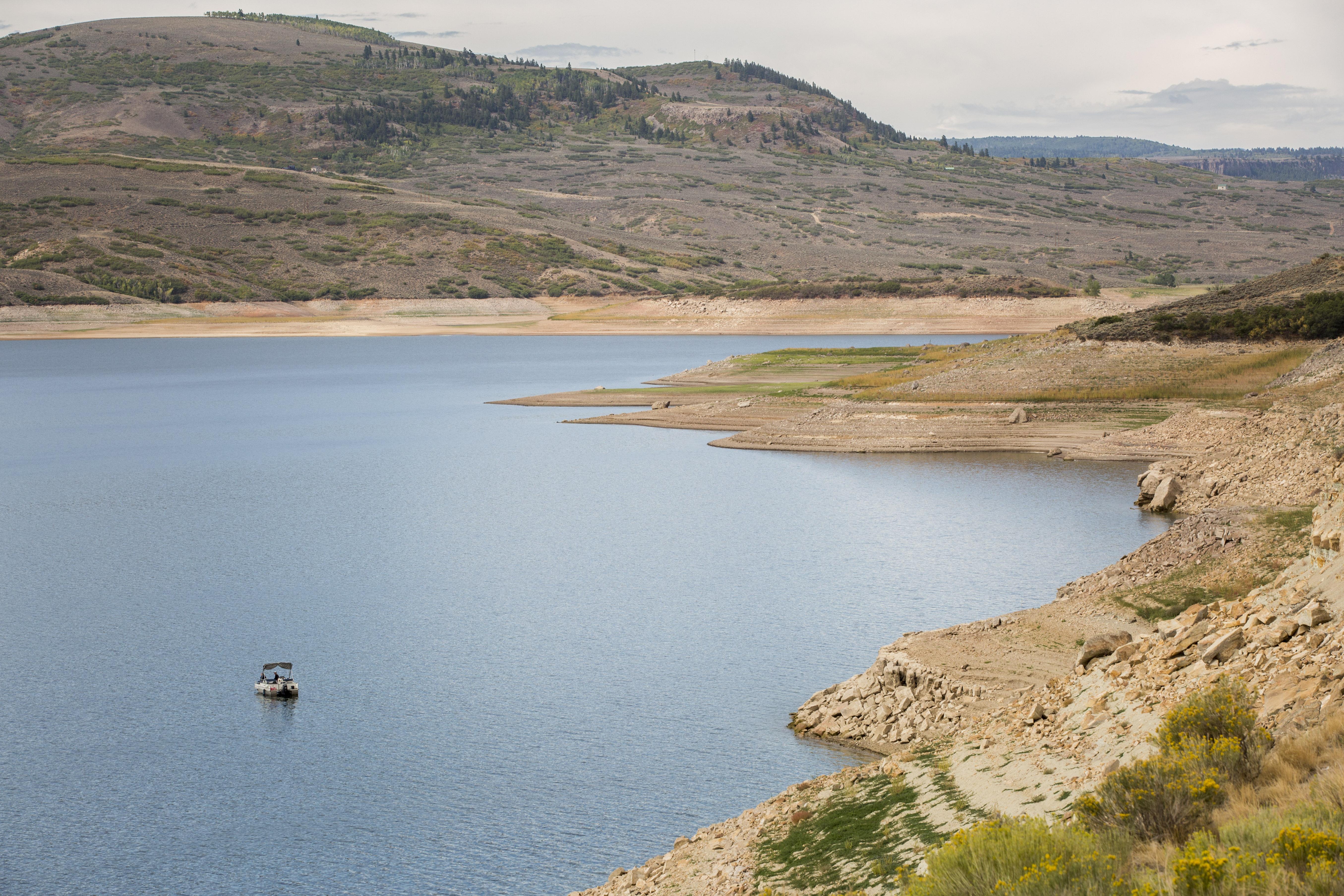 Photo: Blue Mesa Reservoir August 2018 1
