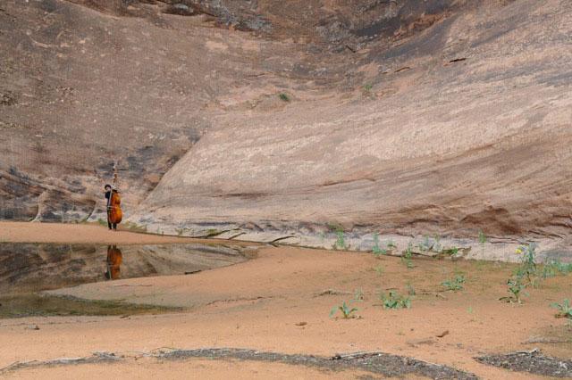 Photo: Robert Black landscape in Utah