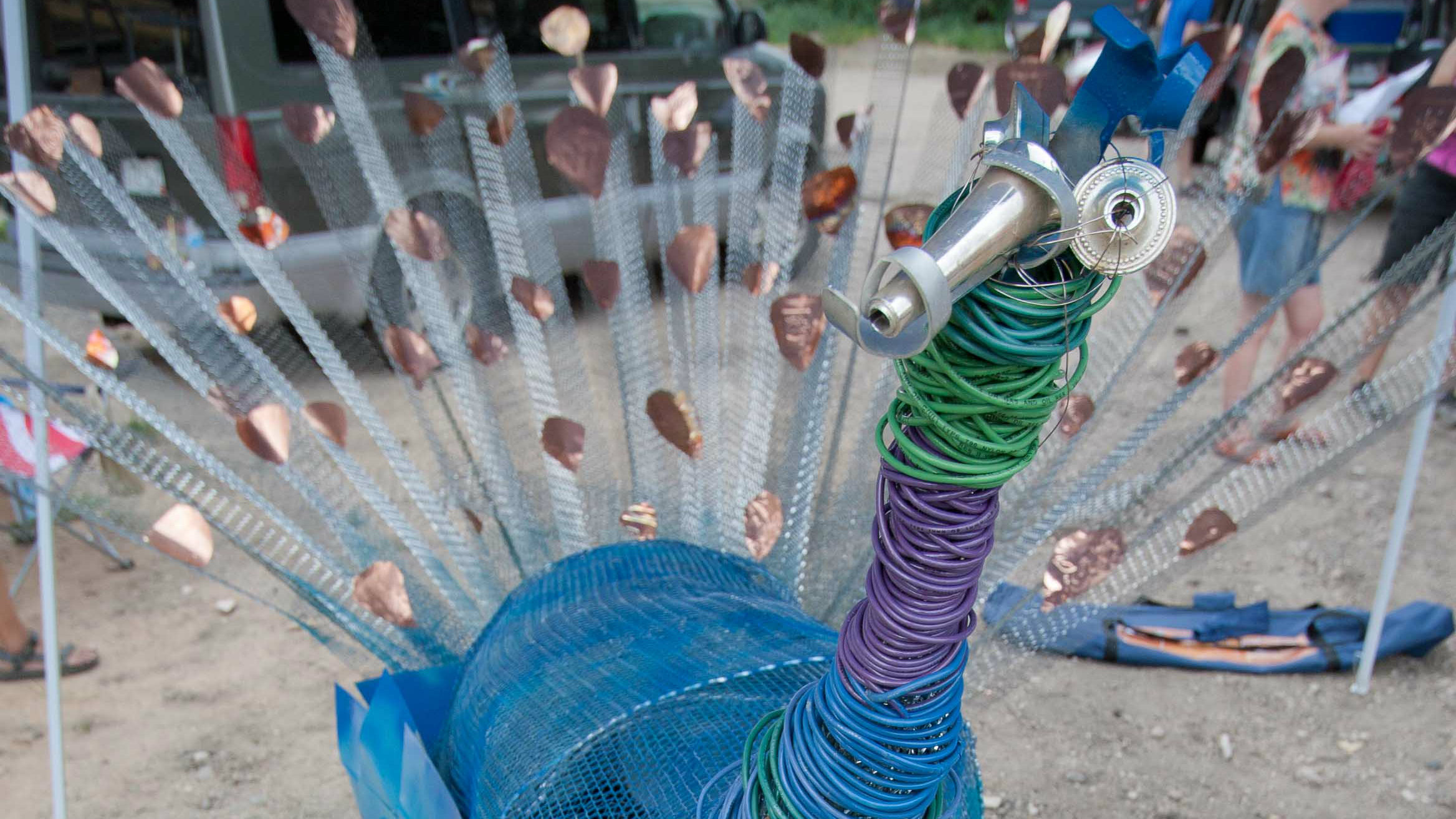 Photo: 2012 Sculpture Games piece by Robin Dodge