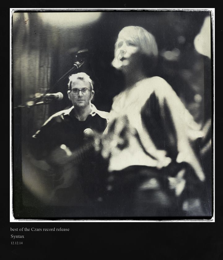Photo: Roger Green and Julie Monley - by Gary Isaacs