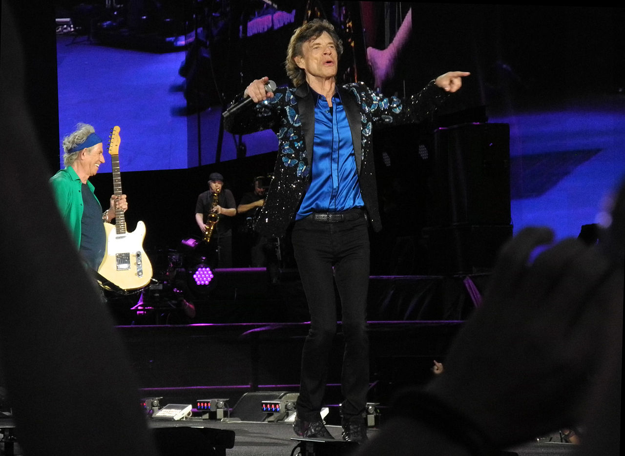 Photo: The Rolling Stones in concert 2013