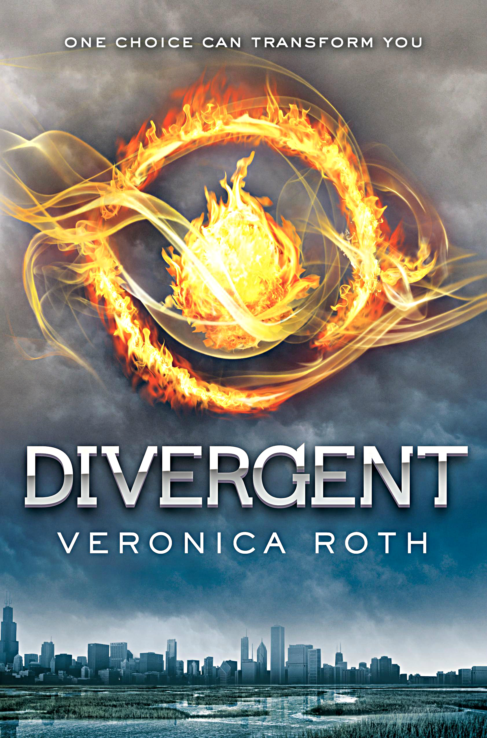 Photo: 'Divergent' by Veronica Roth