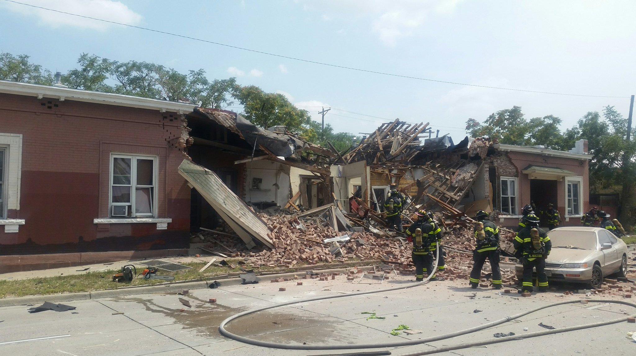 Photo: Sante Fe home explosion