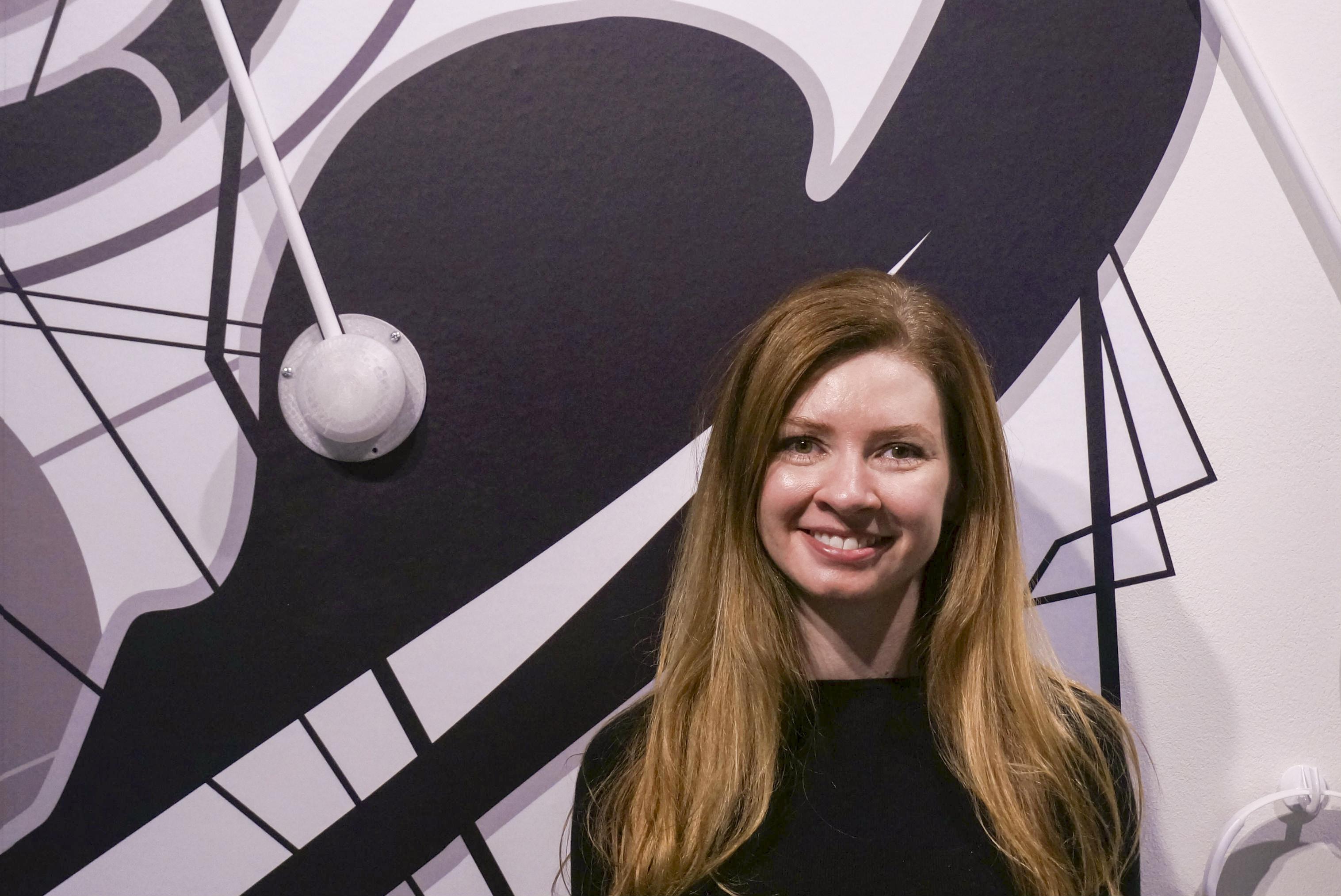 Photo: Sarah Richter, Denver artist with MS