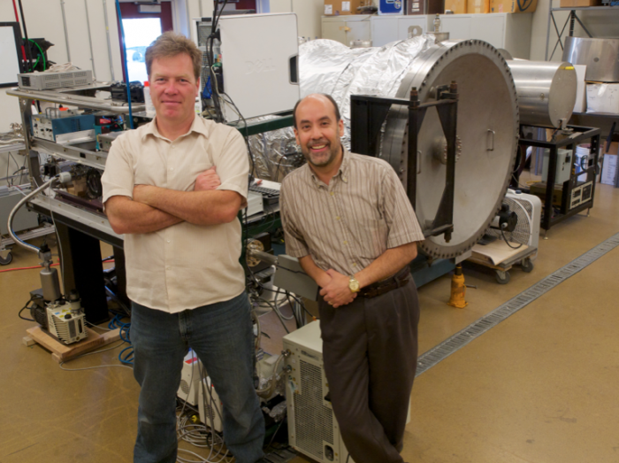 Photo: Space Mining Researchers