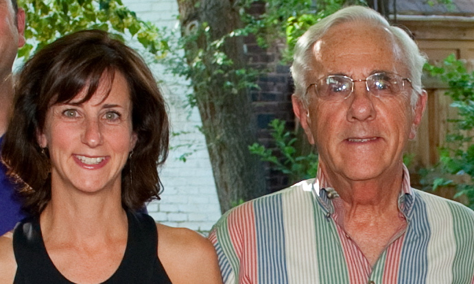 Photo: Julie Selsberg and her father, Charles Selsberg