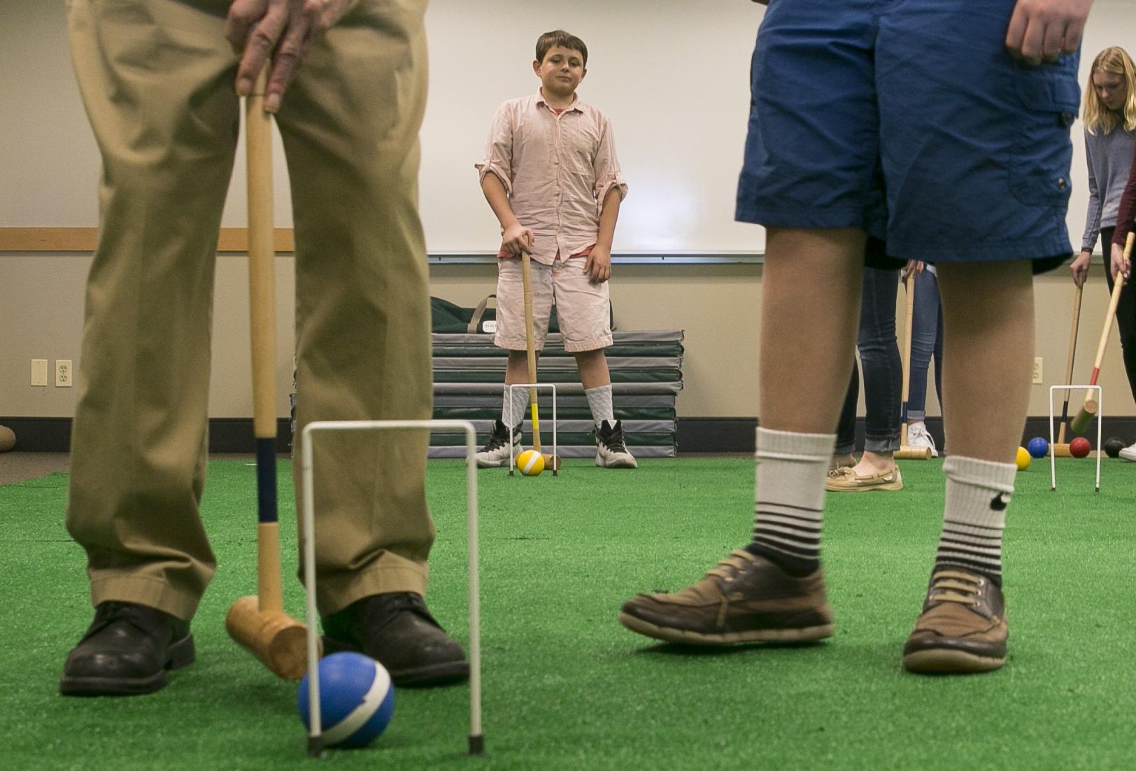 Photo: Senior croquet 2