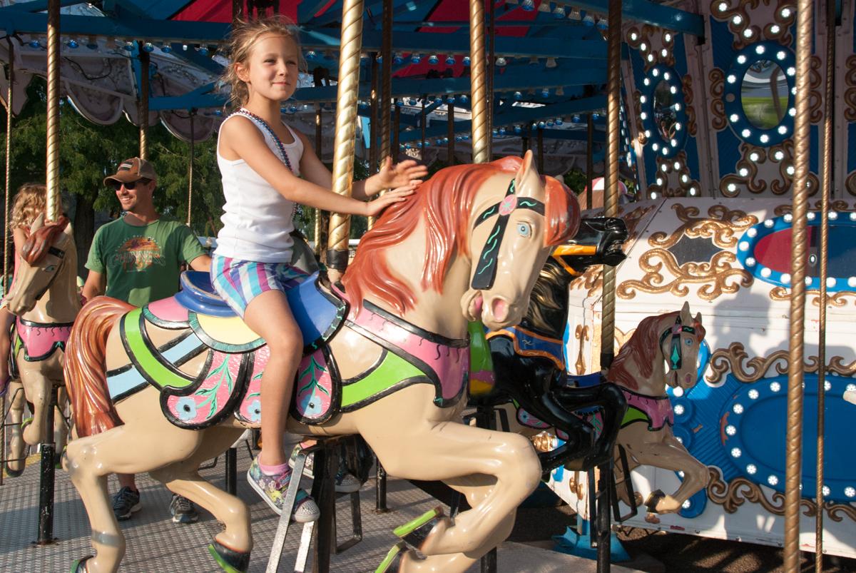 Photo: 2015 State Fair Carousel