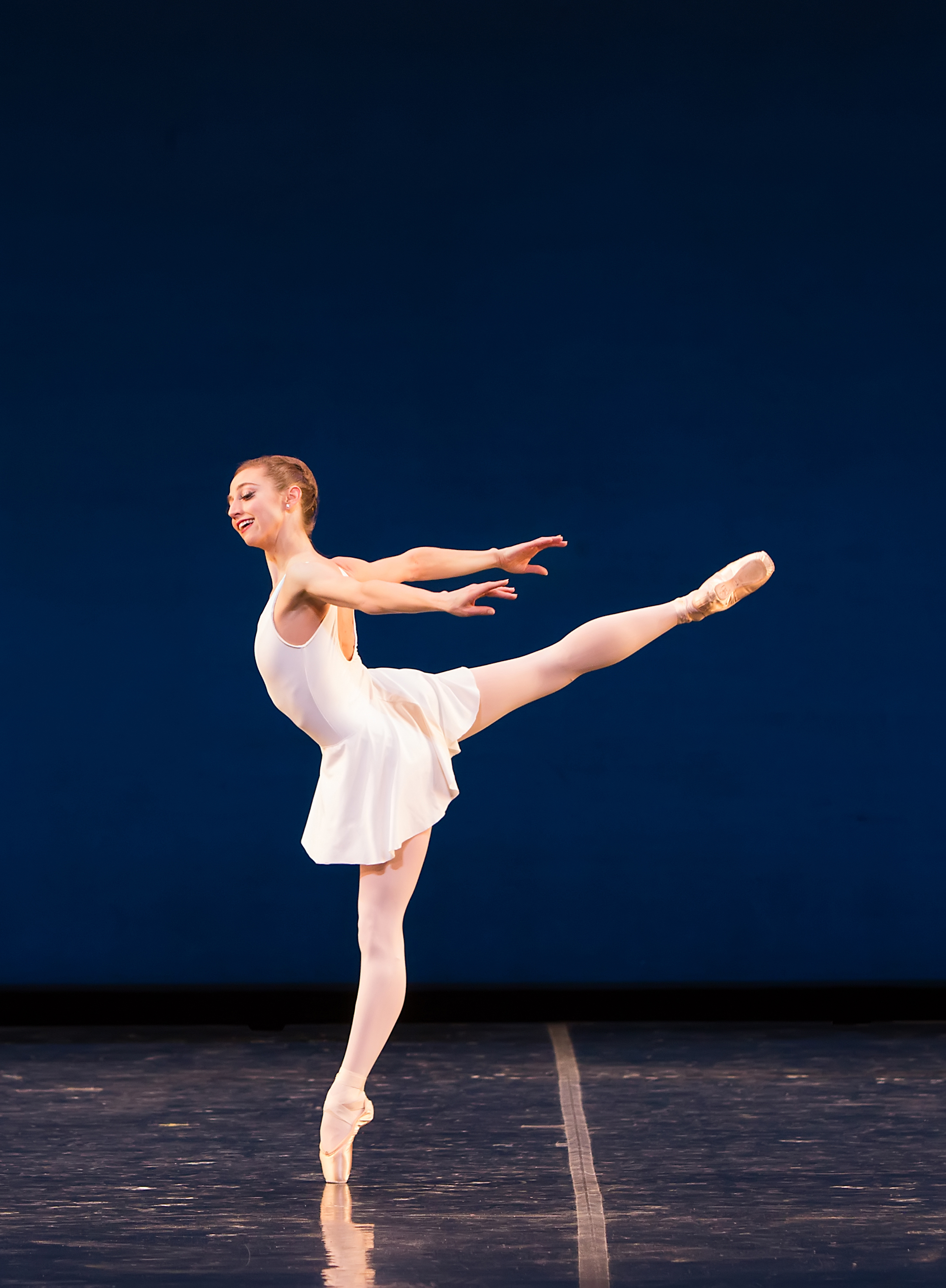 Photo: Colorado Ballet dancer Sharon Wehner in Concerto Barocco