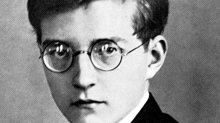 Photo: Dmitri Shostakovich, composer
