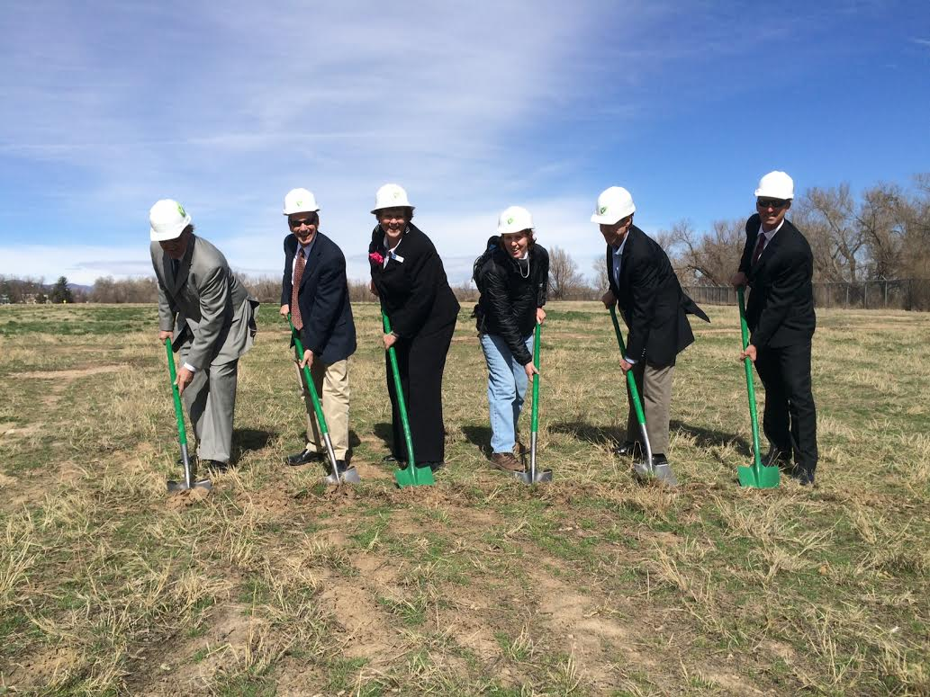 Fort Collins ground breaking