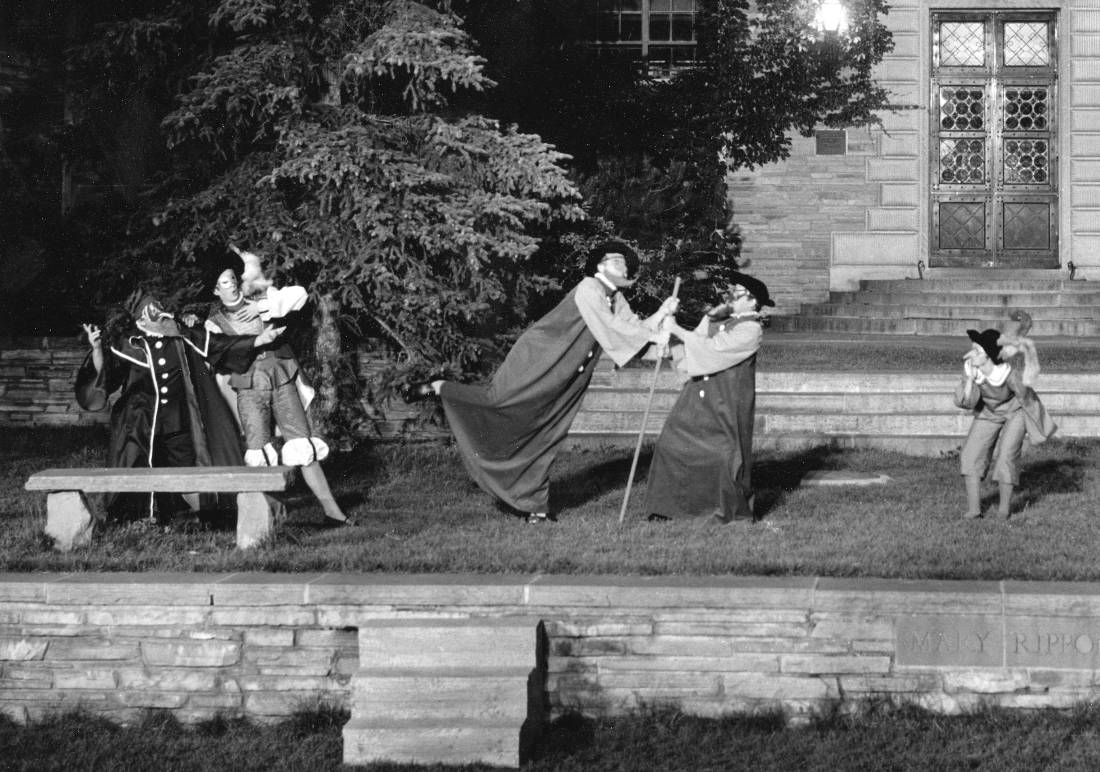 Photo: Colorado Shakespeare Festival, Taming of the Shrew, 1958