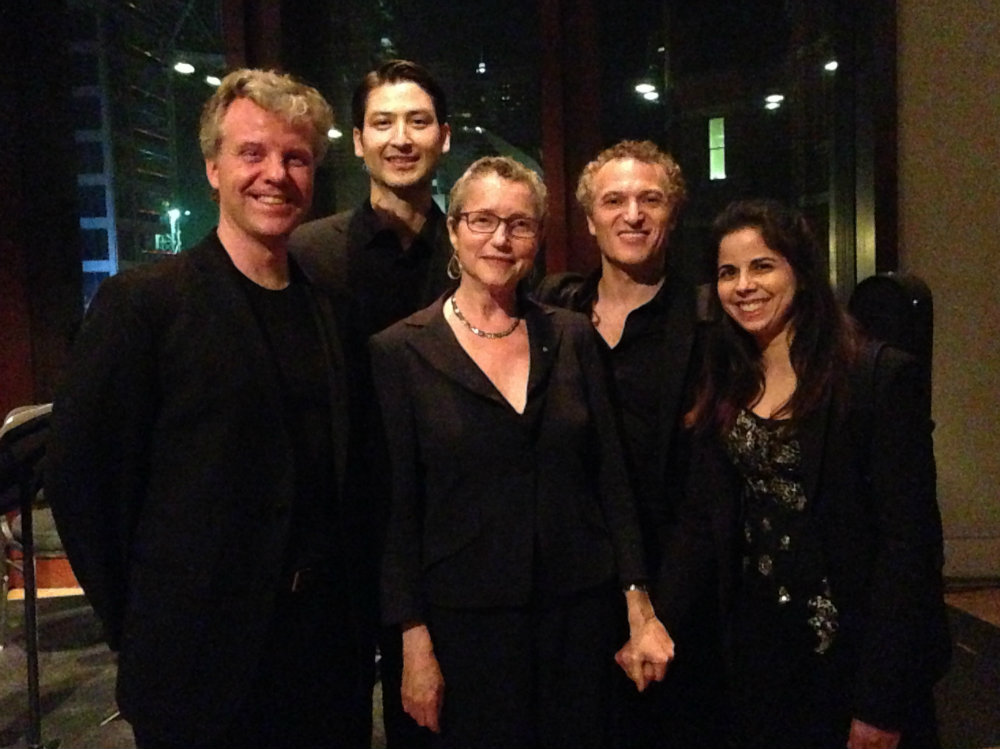 Photo: Shulamit Ran and Pacifica Quartet