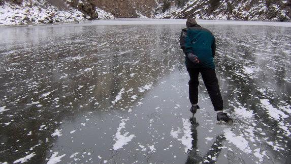 Photo: Gunnison skating cropped