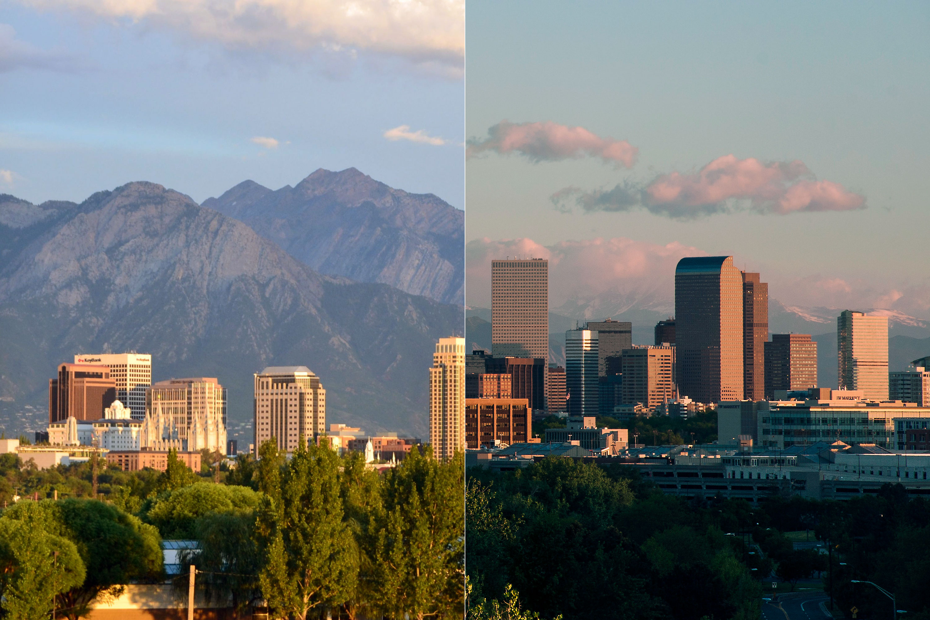 Photo: SLC-Denver Diptych - Flickr/CC
