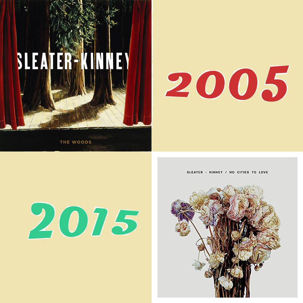 photo: Sleater-Kinney graphic