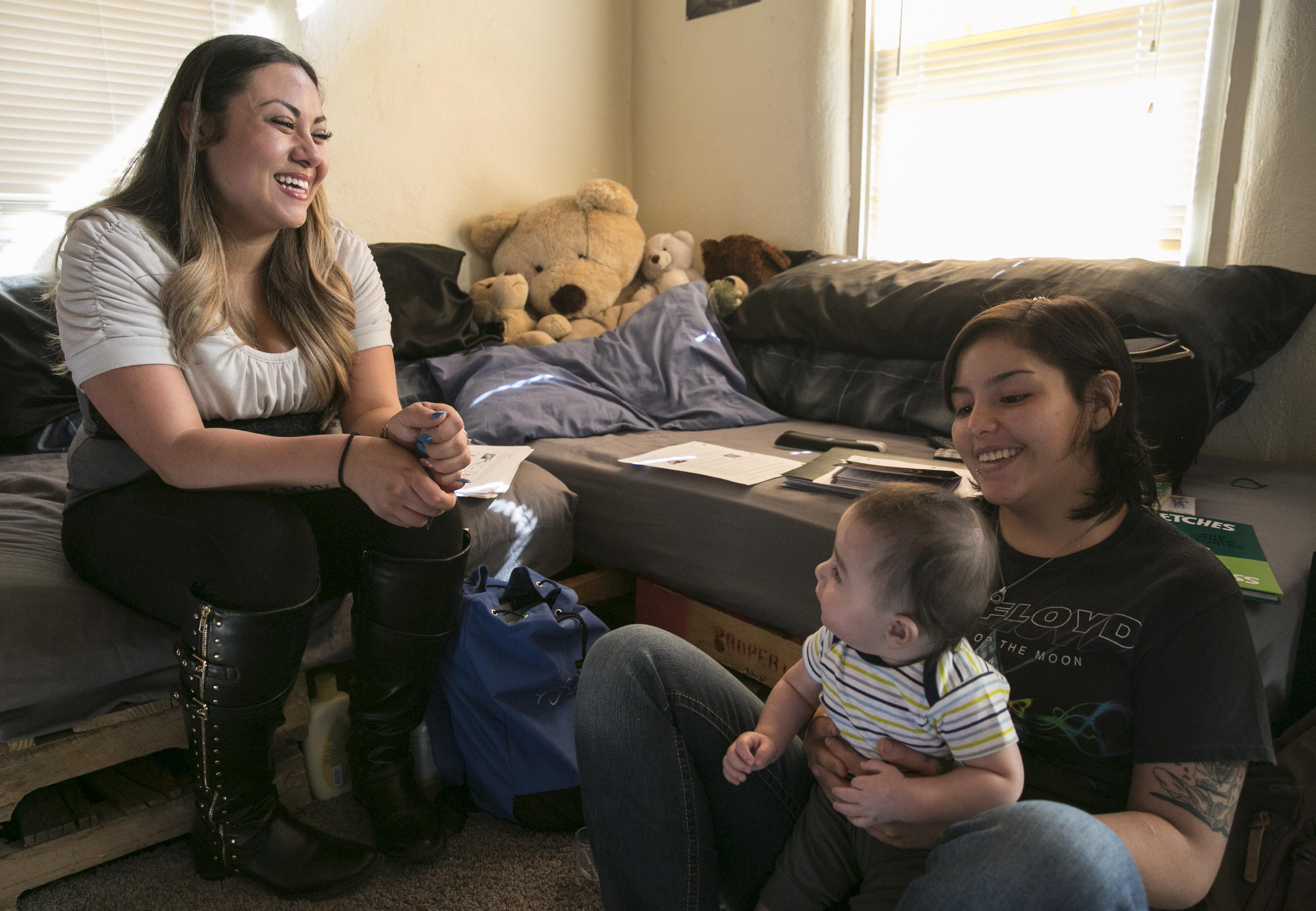 Photo: Visiting nurse 2 | Stephanie Carino, Cecilia Sanchez