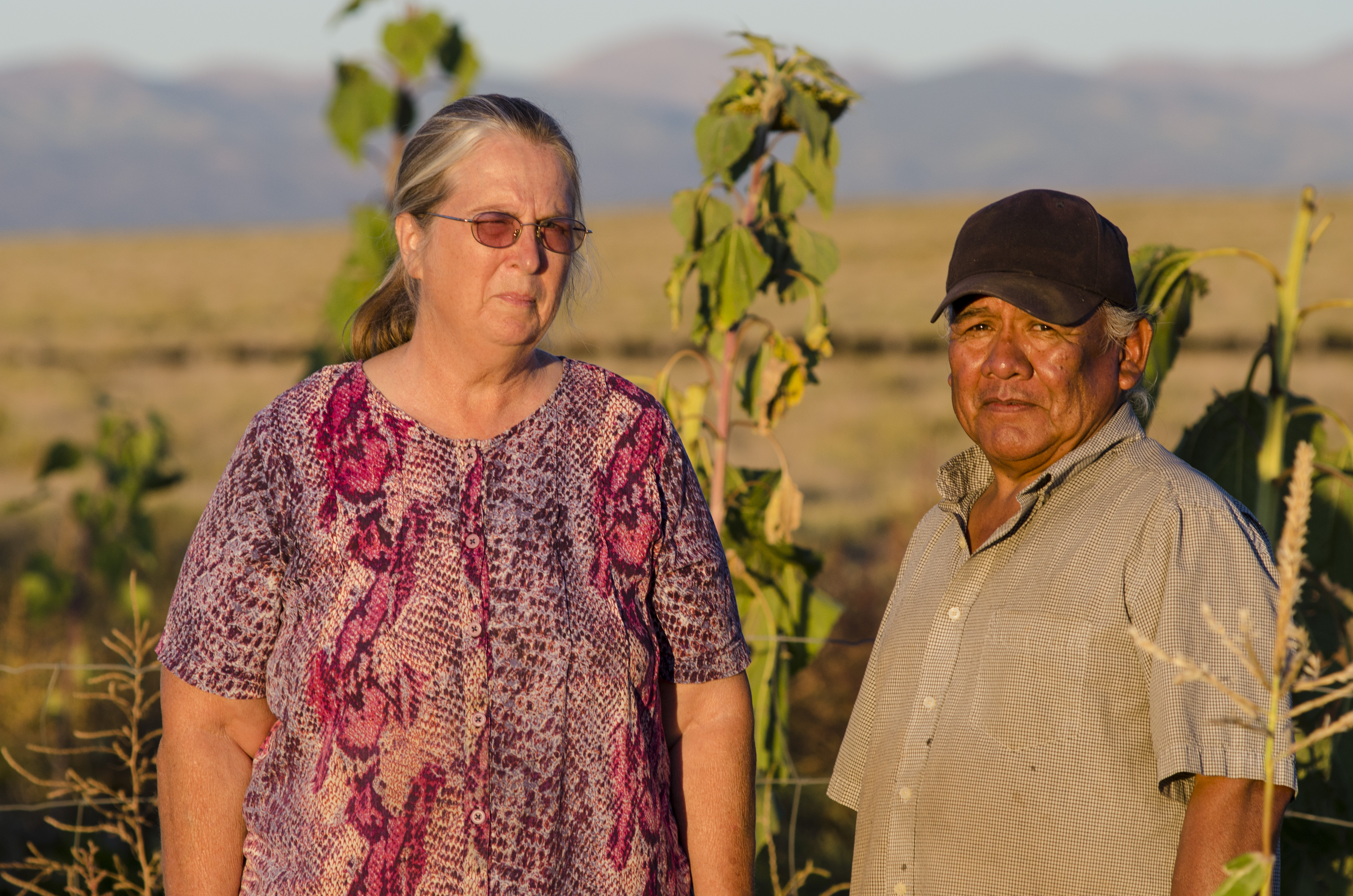 Photo: Robin and Mitchell in San Luis Valley