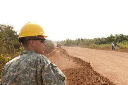 Photo: 615 Engineering Company Liberia