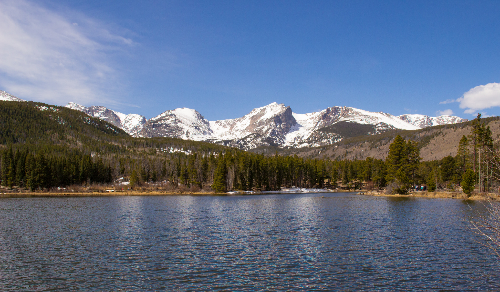 Photo: Sprague Lake in RMNP
