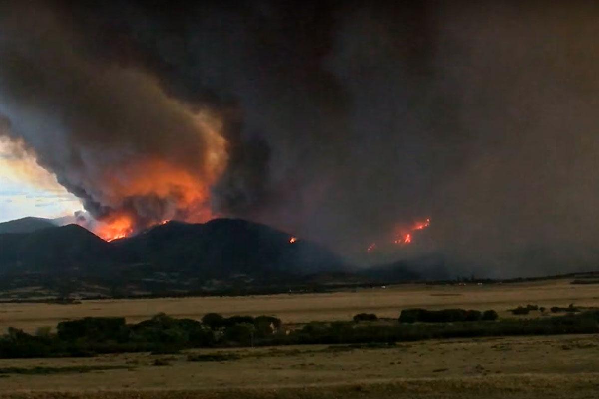 Photo: Spring Fire 5 July 2 | Costilla/Huerfano Counties - Courtesy