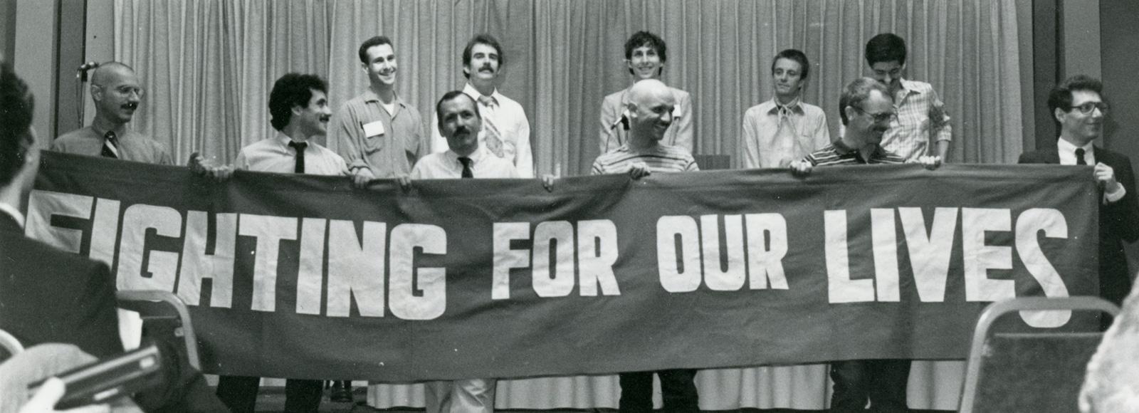 Photo: Denver Principles AIDS Banner
