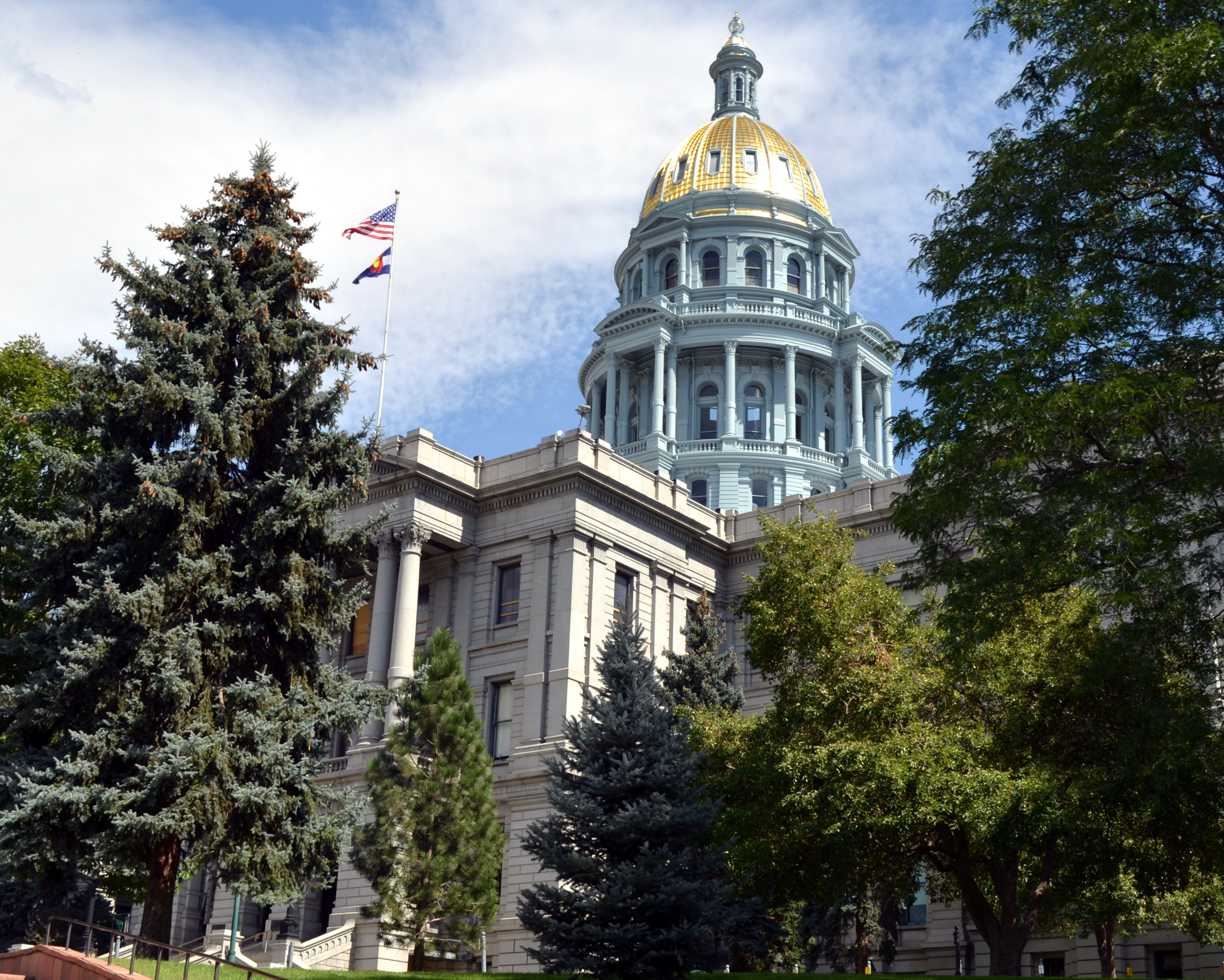 Photo: Colorado state Capitol building Sept 2014
