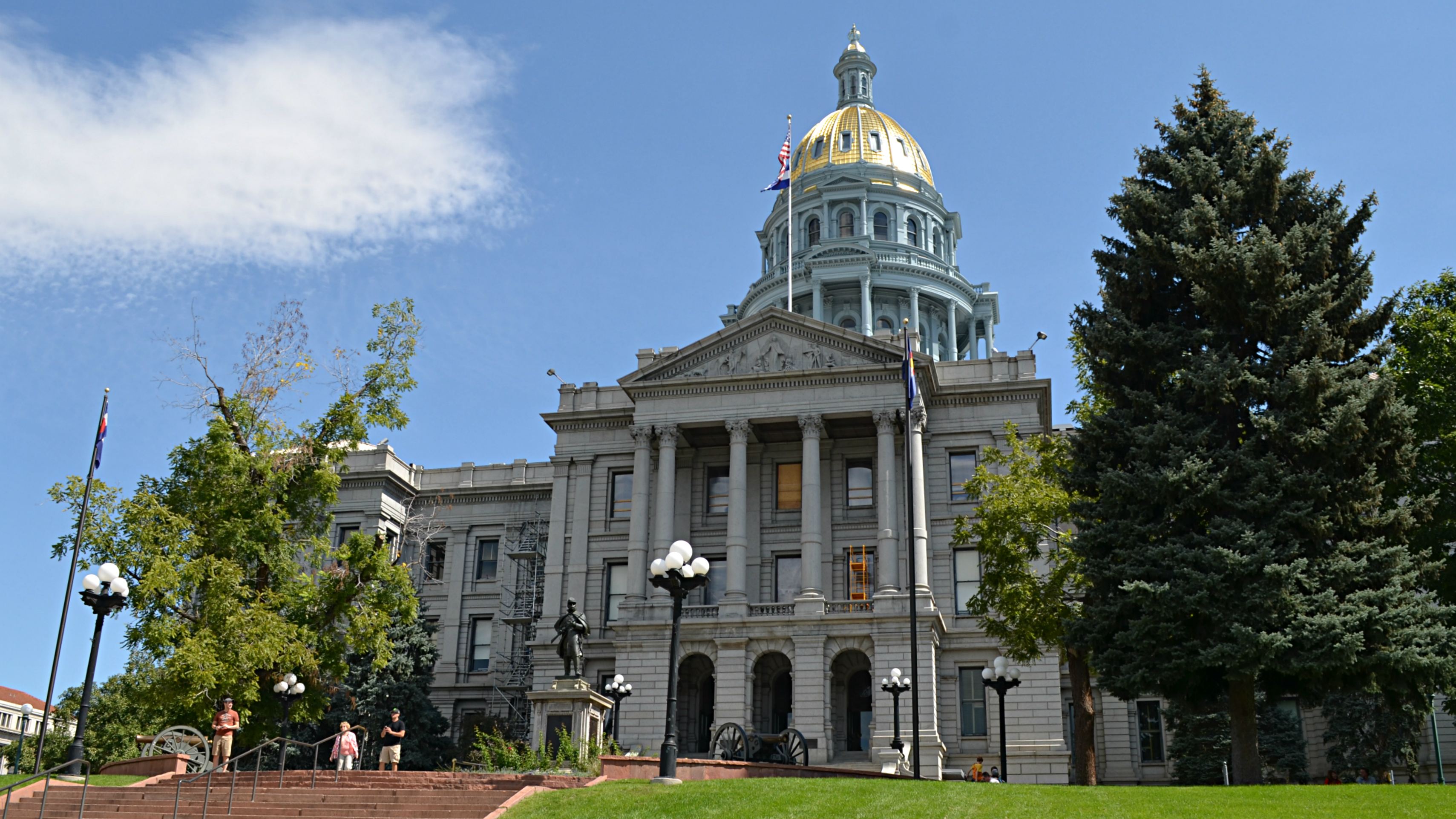 Photo: Colorado state Capitol building Sept 2014 b