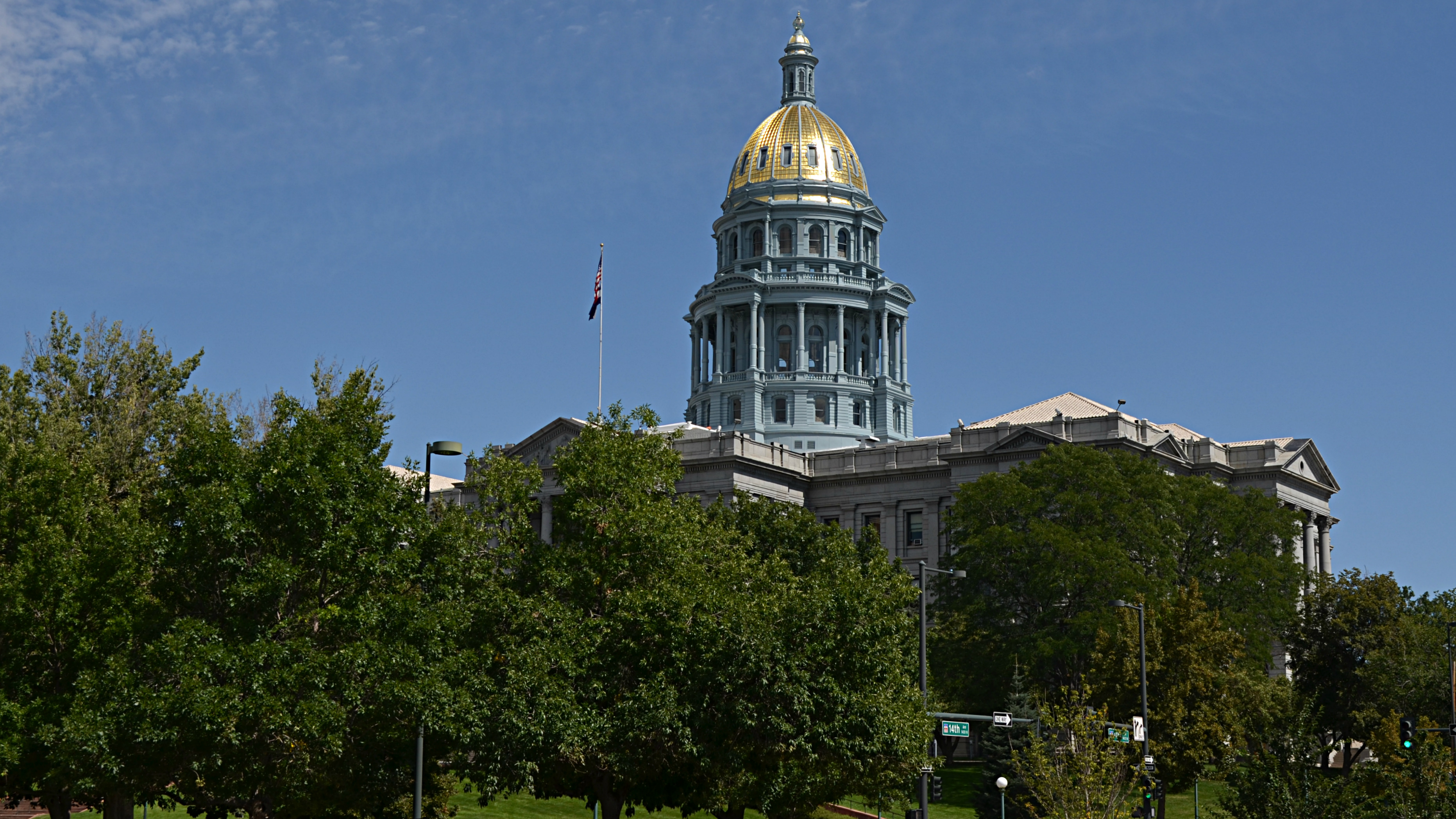 Photo: Colorado state Capitol building Sept 2014 d