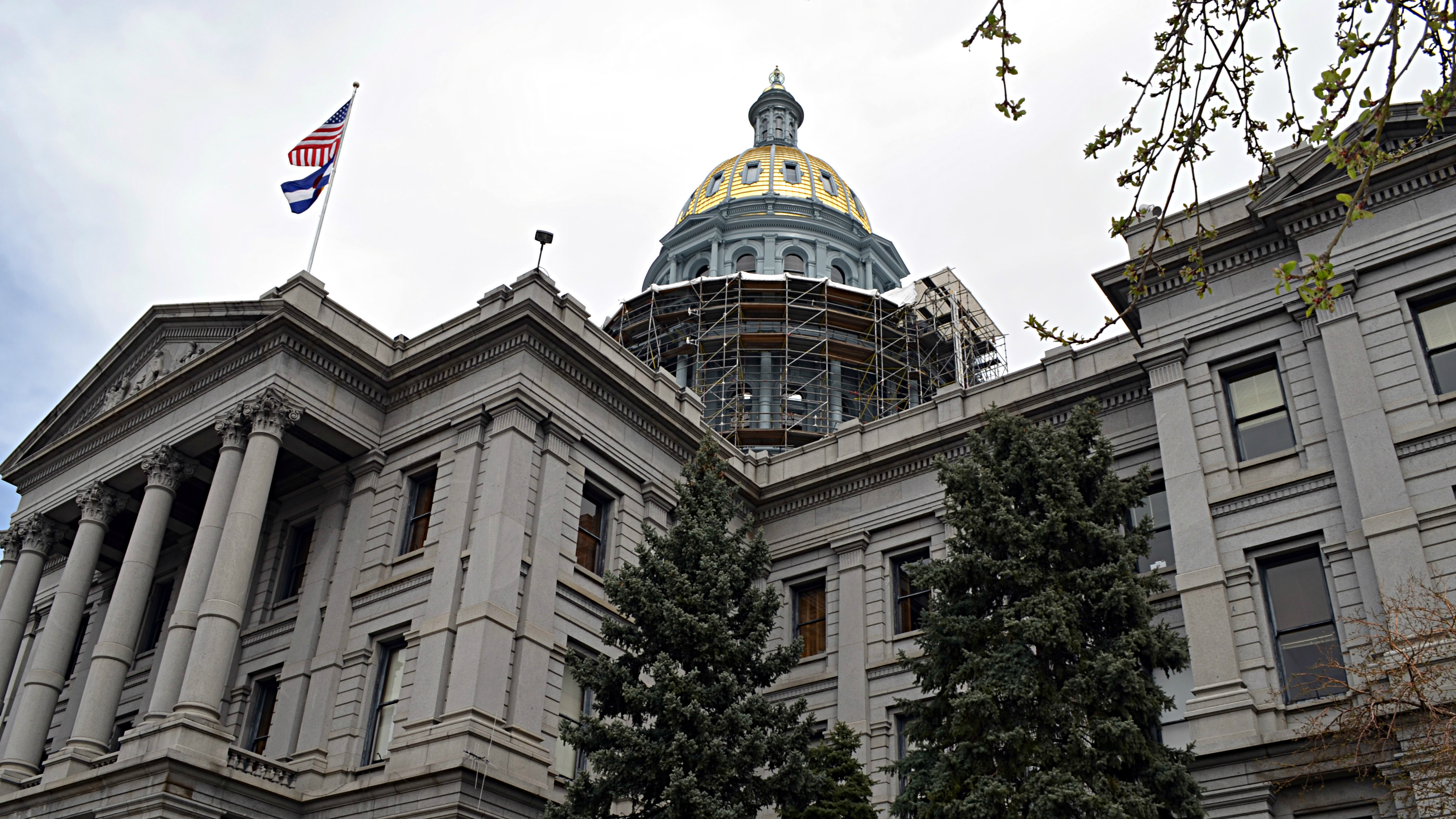 Photo: State capitol April 2014