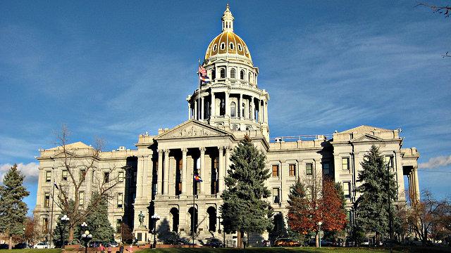 The Colorado Capitol.