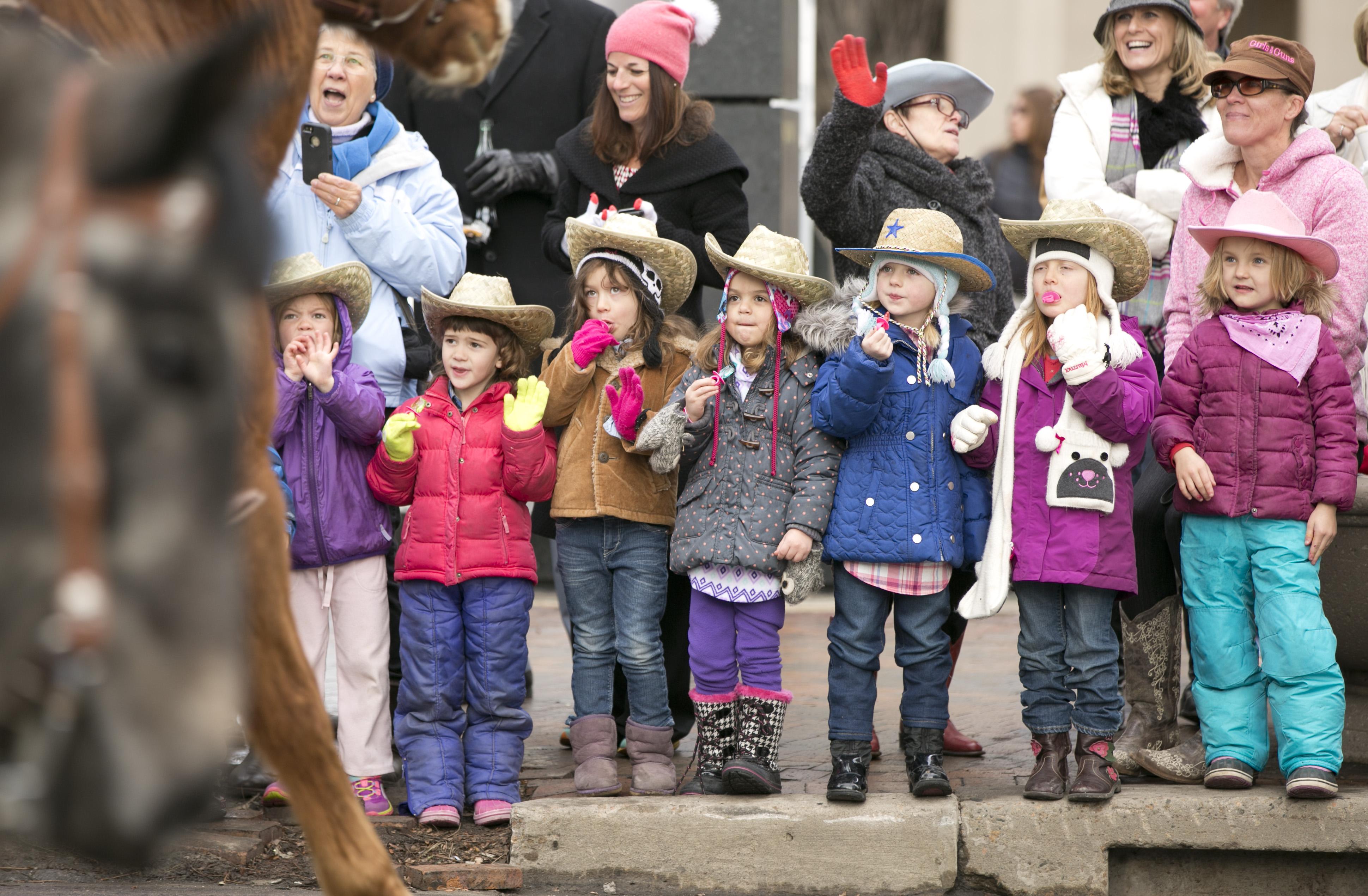 Photo: Stock show parade 7 | Girls watch parade
