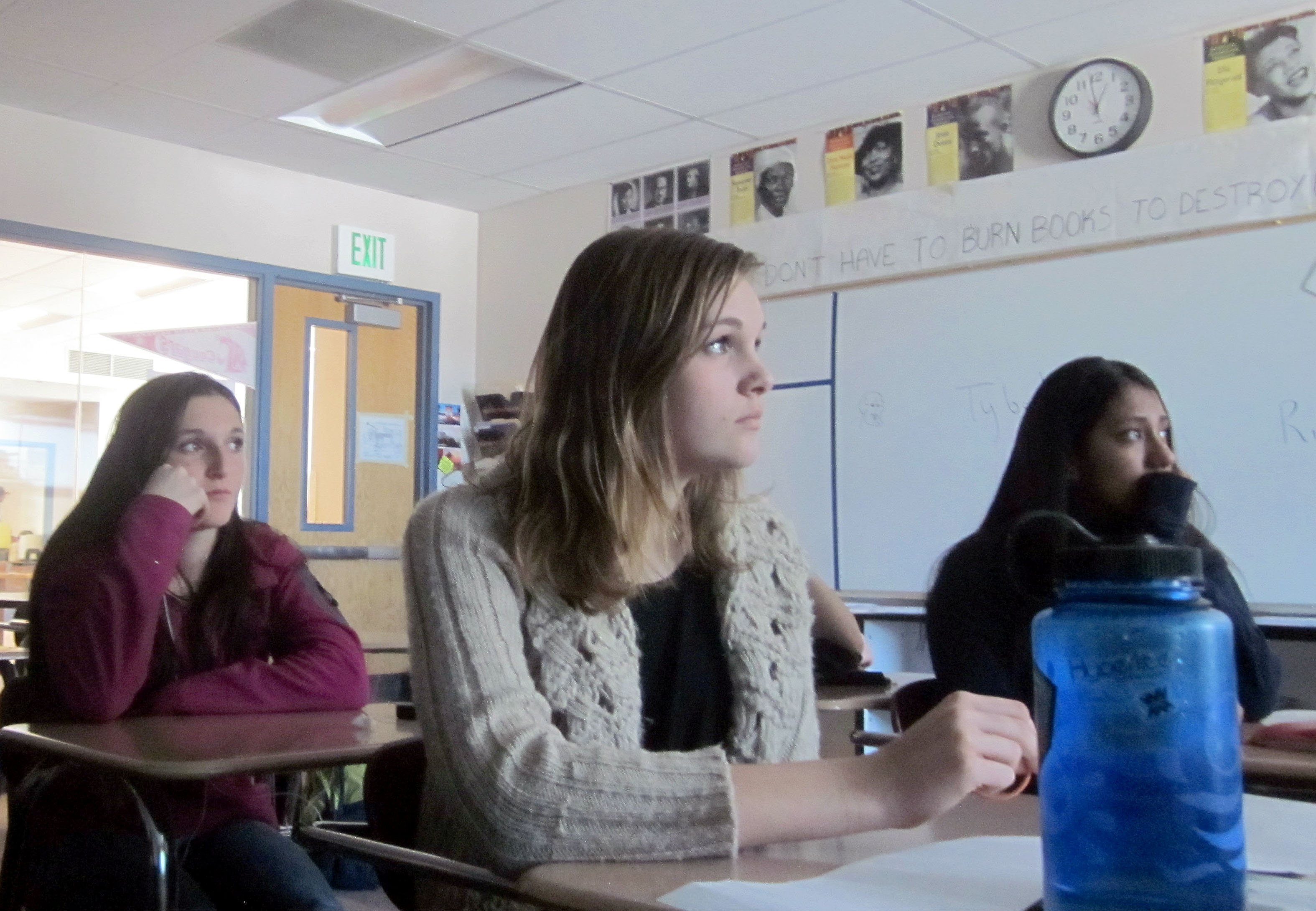 Photo: Steamboat Springs students in class, PARCC