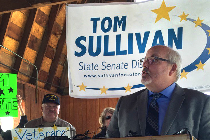 Photo: Tom Sullivan Announces State Senate Bid