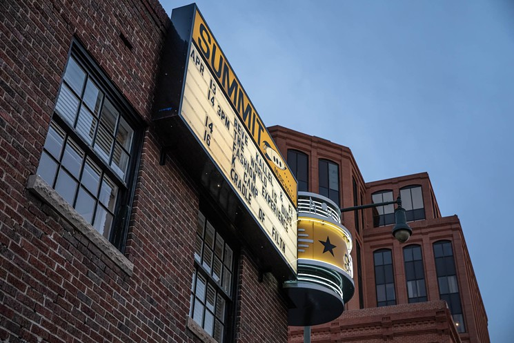 Photo: Summit Music Hall exterior
