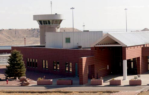Photo: Administrative Maximum Facility (ADX) Supermax prison Florence