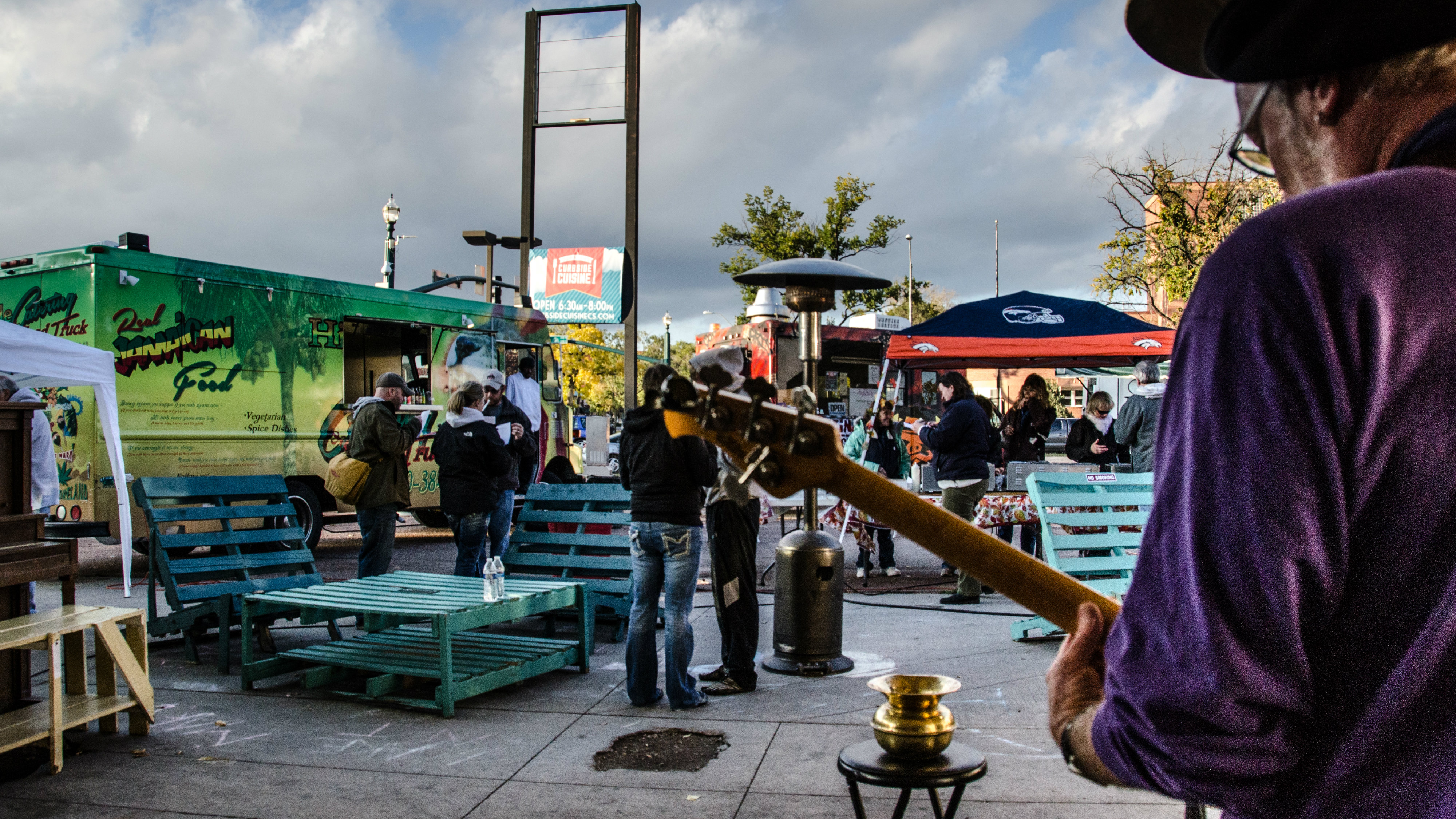 Photo: Tactical Urbanism and food trucks in Colorado Springs