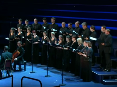 Photo: Tallis Scholars perform John Tavener screengrab