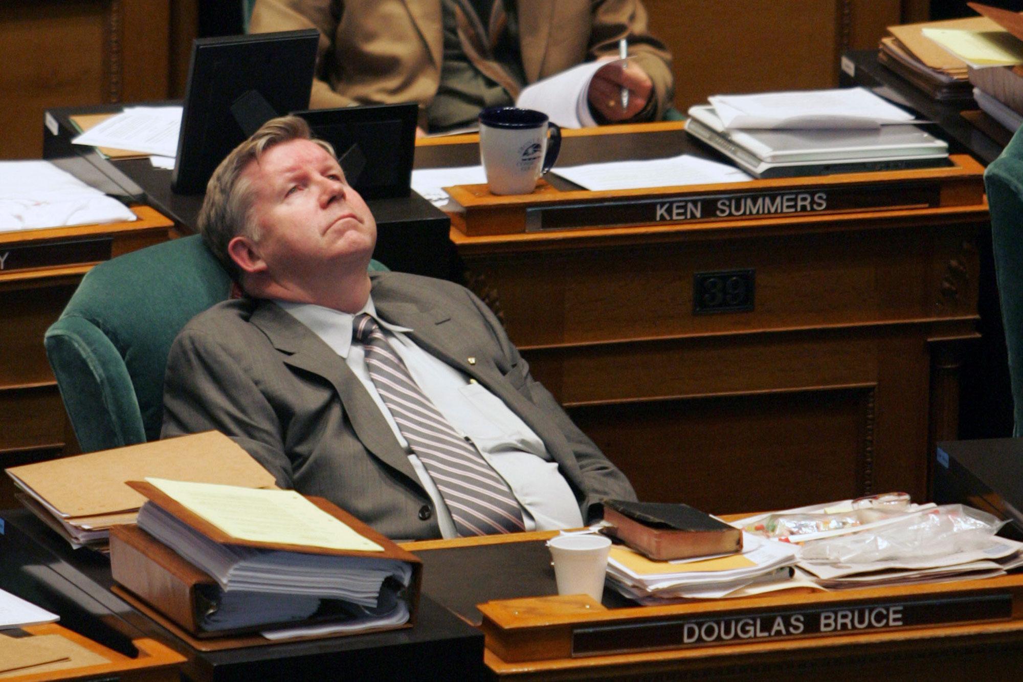 Douglas Bruce in the Colorado Legislature