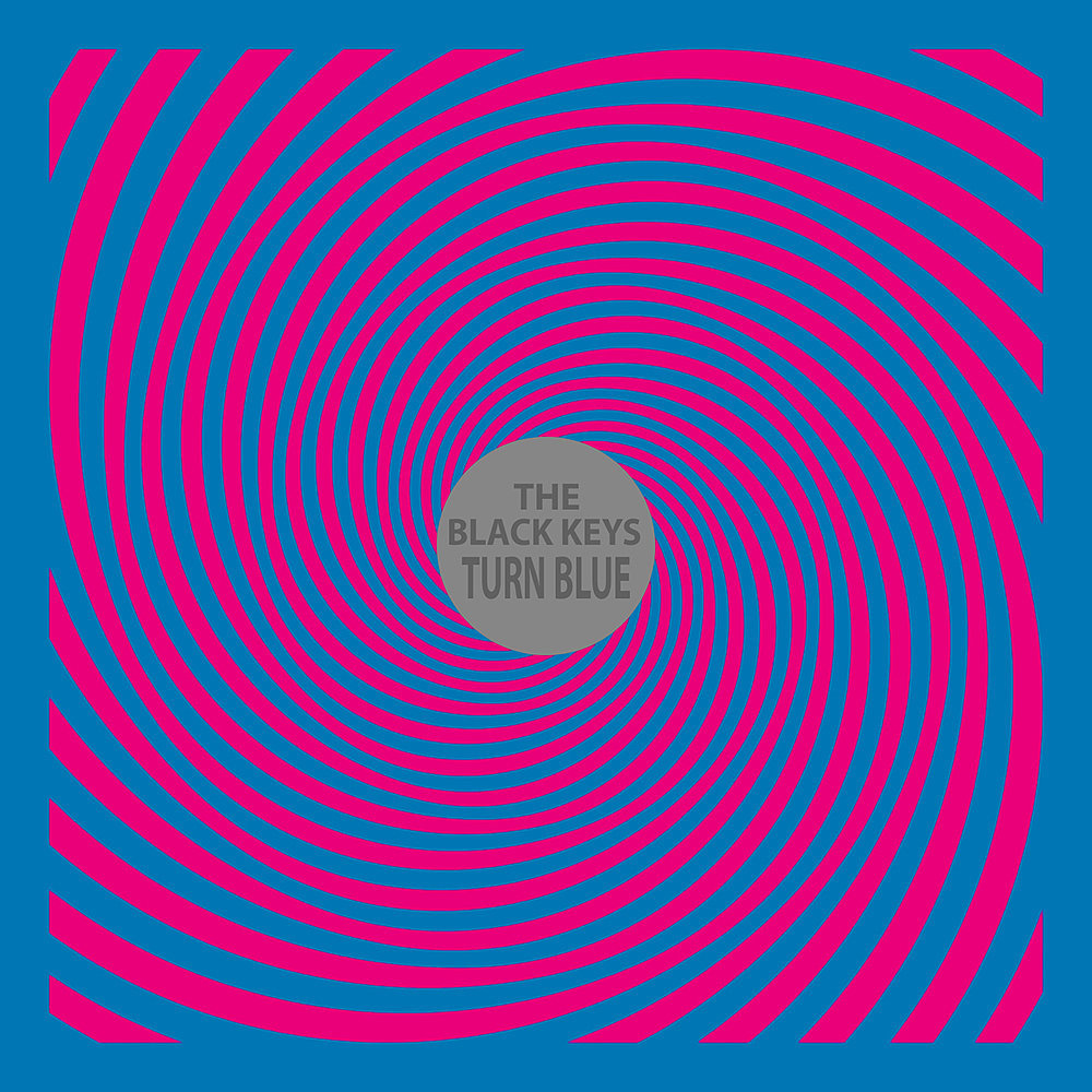 photo: The Black Keys Turn Blue album cover