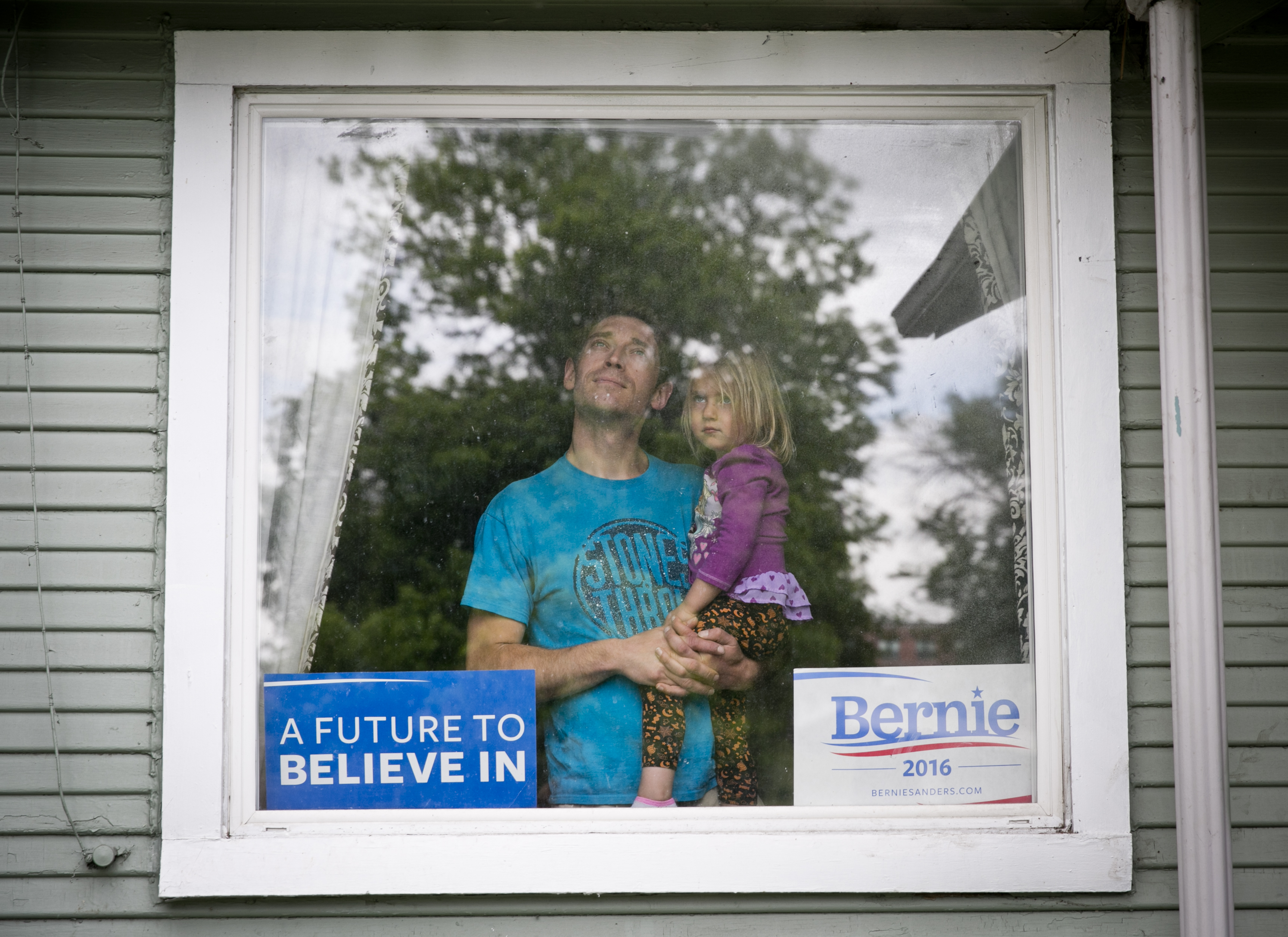 Photo: Bernie Sanders supporter TC Bell