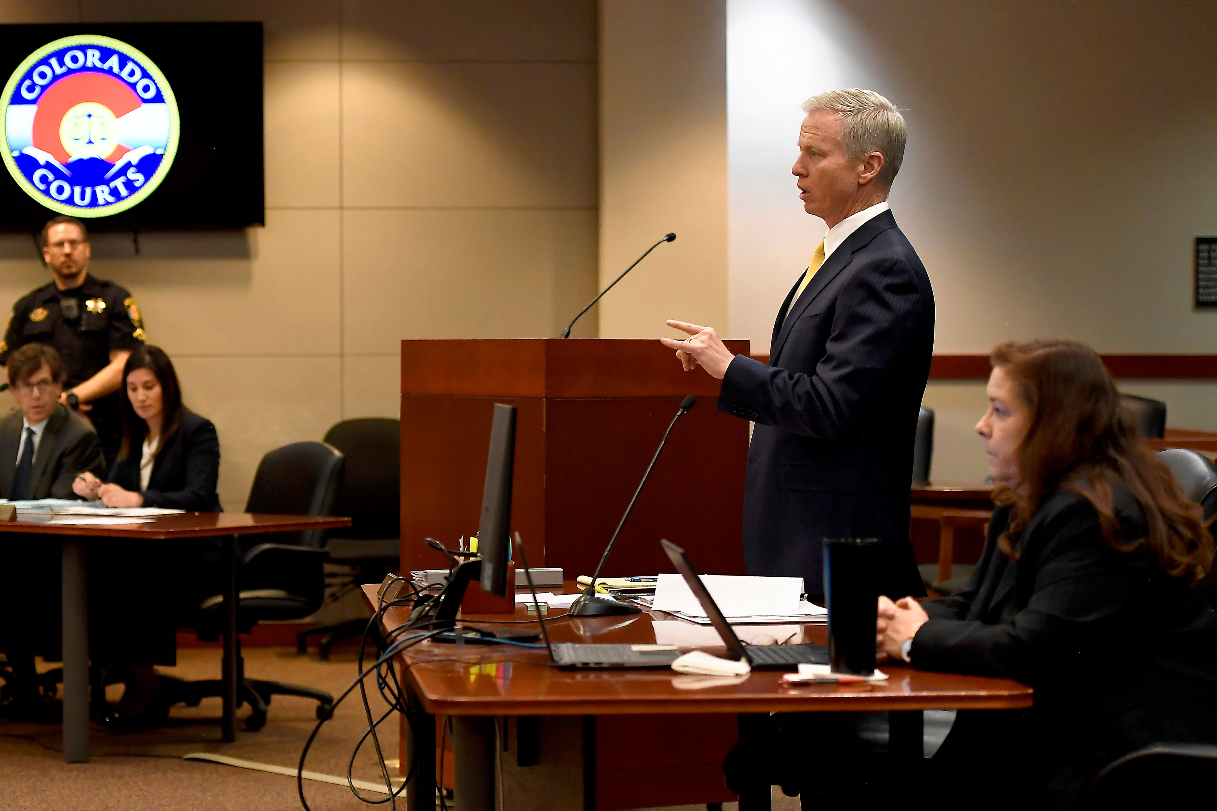Photo: STEM Shooting 20 | 2nd Court Appearence, Formal Charges, George Brauchler 2 - POOL