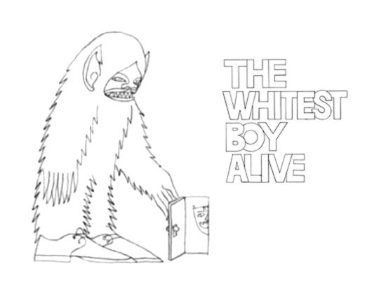 photo: The Whitest Boy Alive