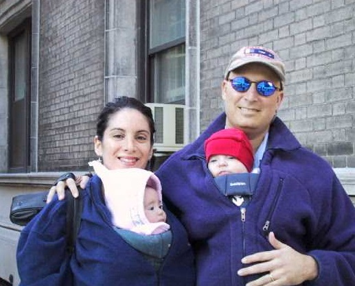 Nancy Sharp With Her First Husband Brett Zickerman And Their Kids