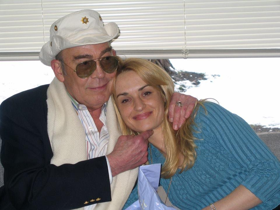 Photo: Hunter and Anita Thompson 1