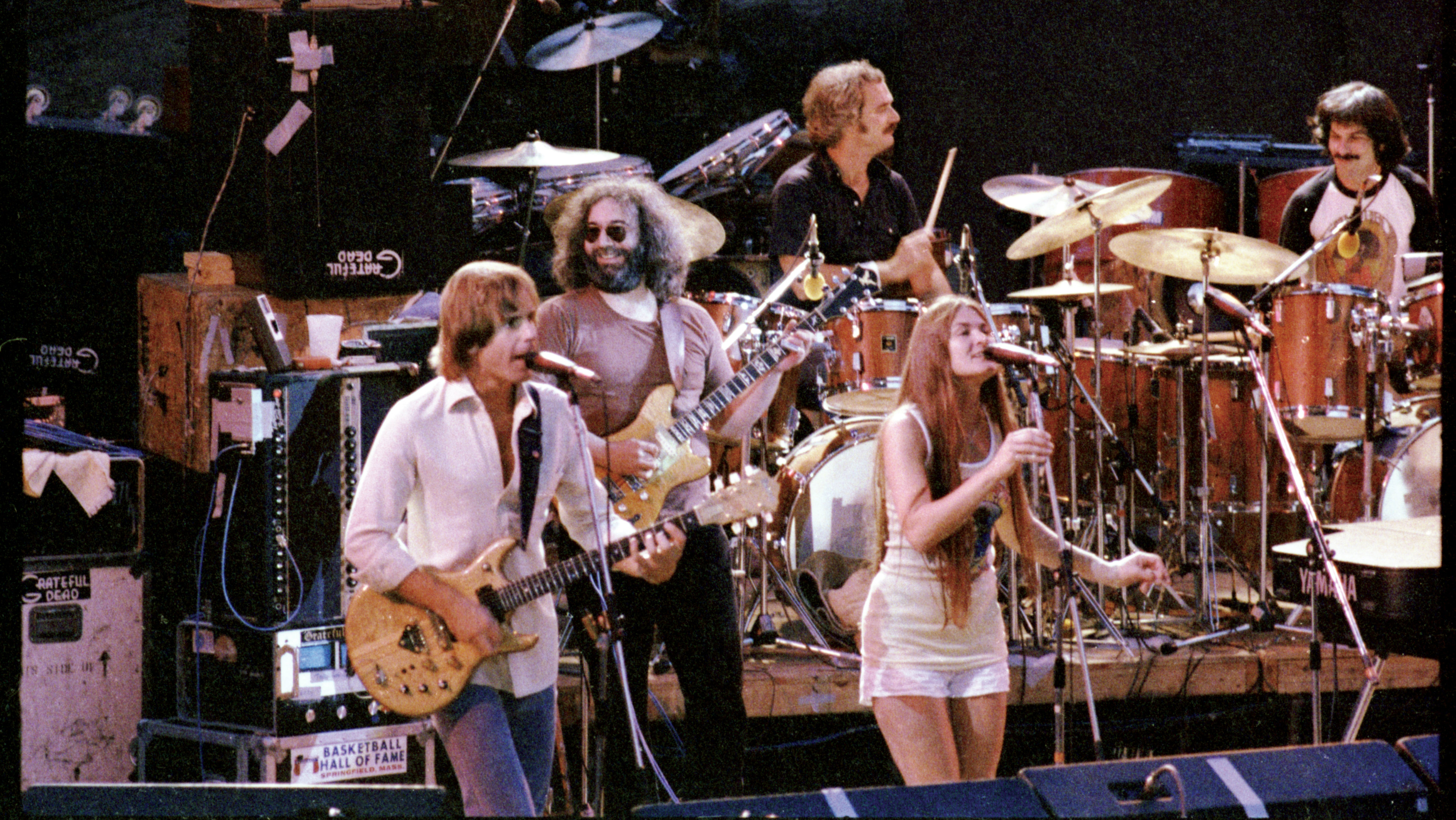 The Grateful Dead at Red Rocks