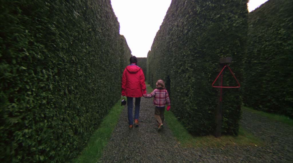 Photo: 'The Shining' hedge maze screenshot