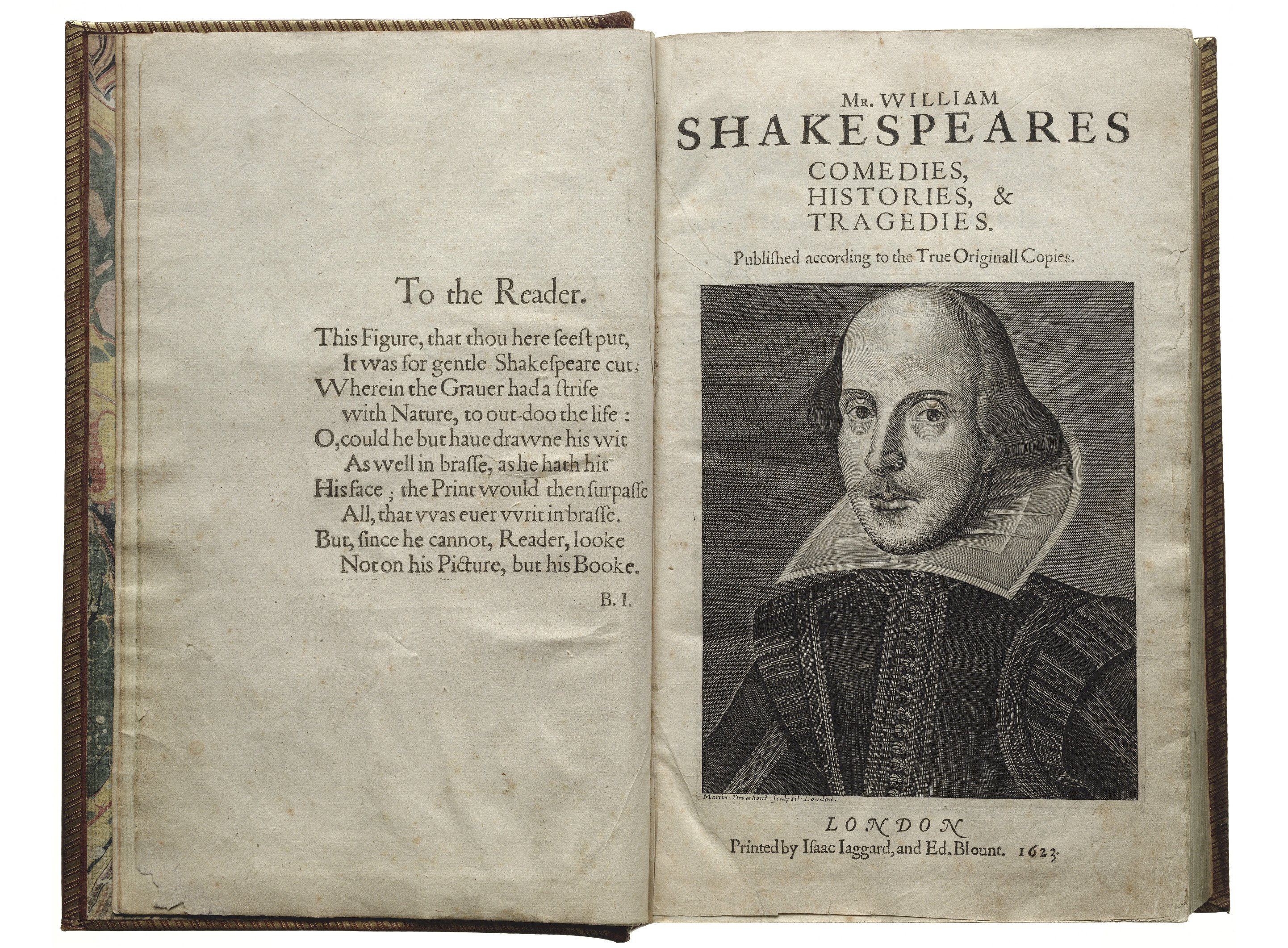 Photo: First Folio title page
