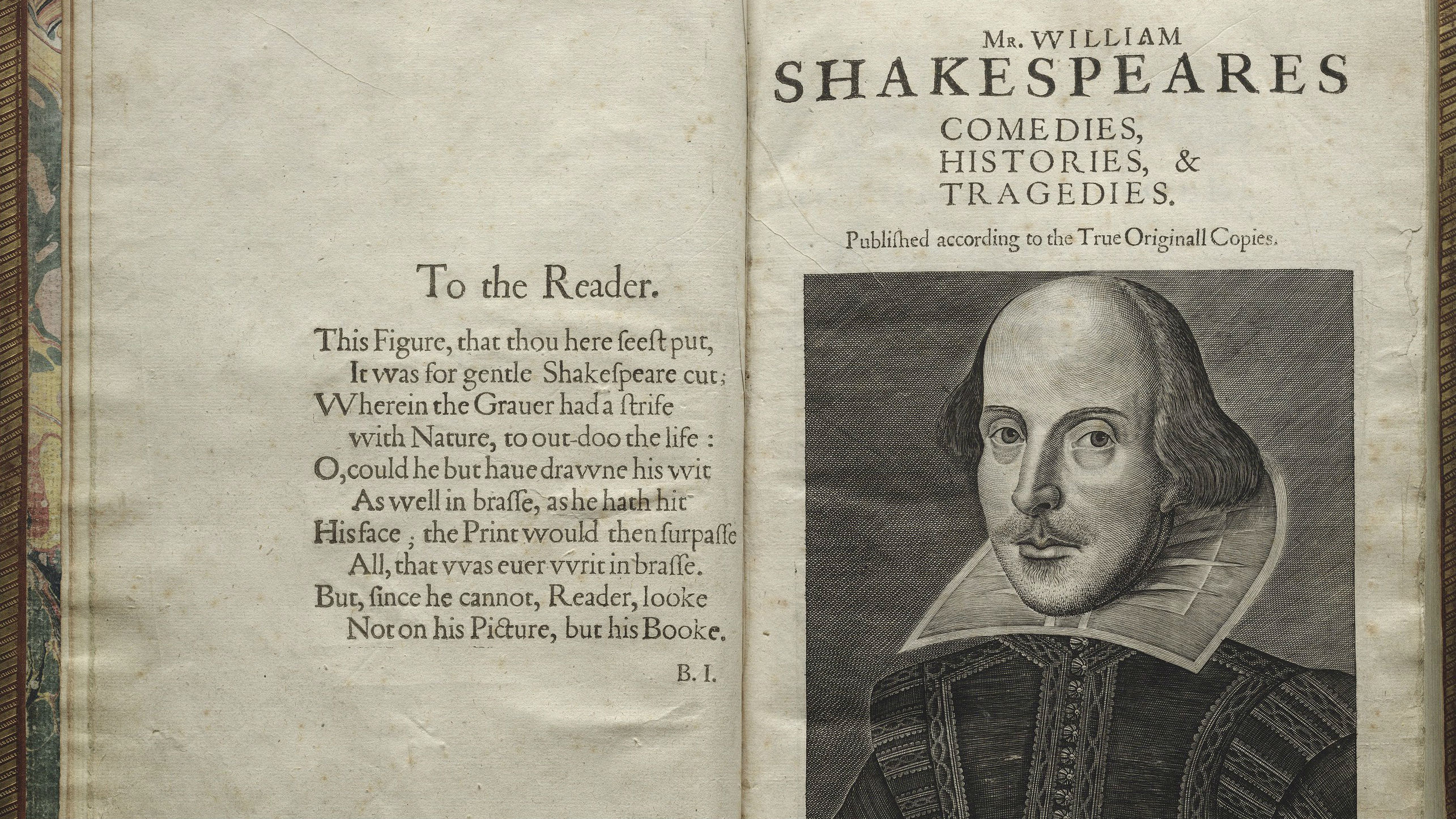 Photo: First Folio feature